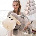 Fancytrader 35 '' / 90 см Гигантский Плюшевые Фаршированная Мягкая Прекрасная Симпатичные животные Овцы игрушки, 2 Цвета, Бесплатная доставка FT50570