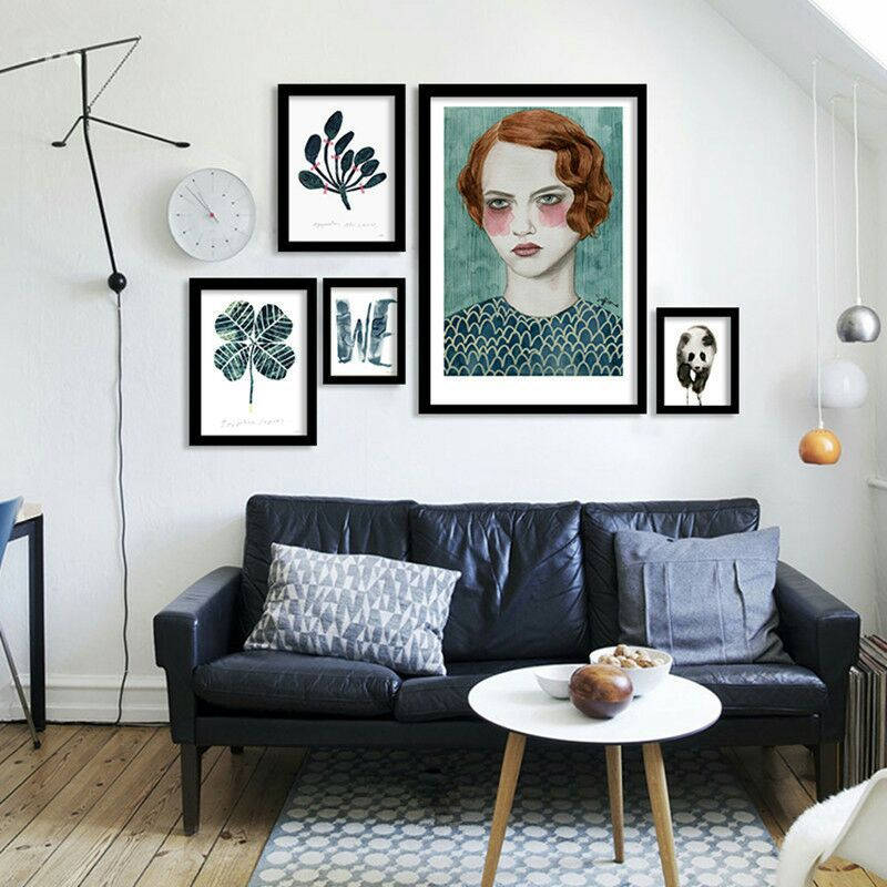Scandinavian Posters And Prints Creative Popular Illustrator Girl Wall Art Canvas Painting Living Room Decoration Wall Picture