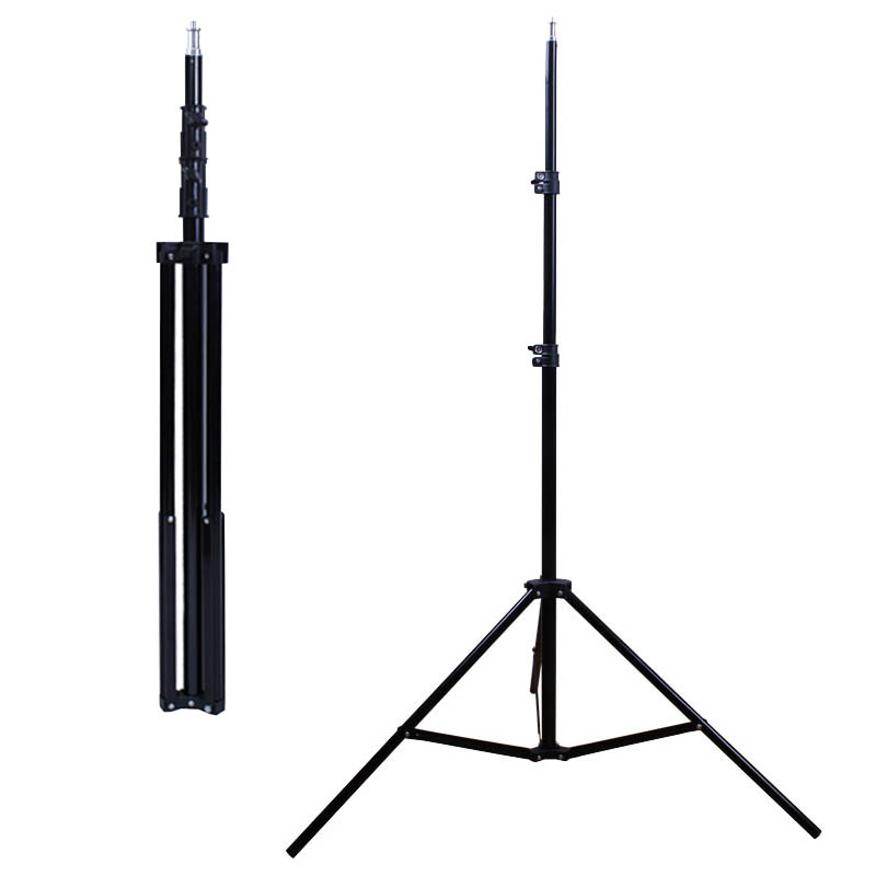 2m/78-inch Photography Video Studio Light Tripod Support Stand With 1/4 Screw For Softbox Lamp Holder LED Light Flash Mount
