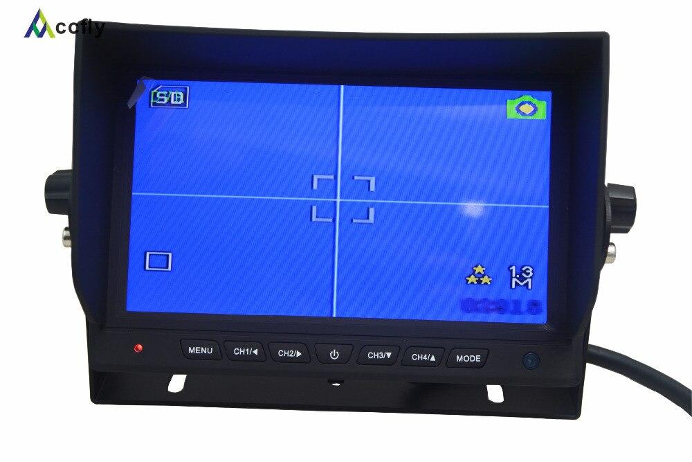 Arxa görüntü kamerası üçün 7 düymlük Rəngli TFT LCD - Avtomobil elektronikası - Fotoqrafiya 2