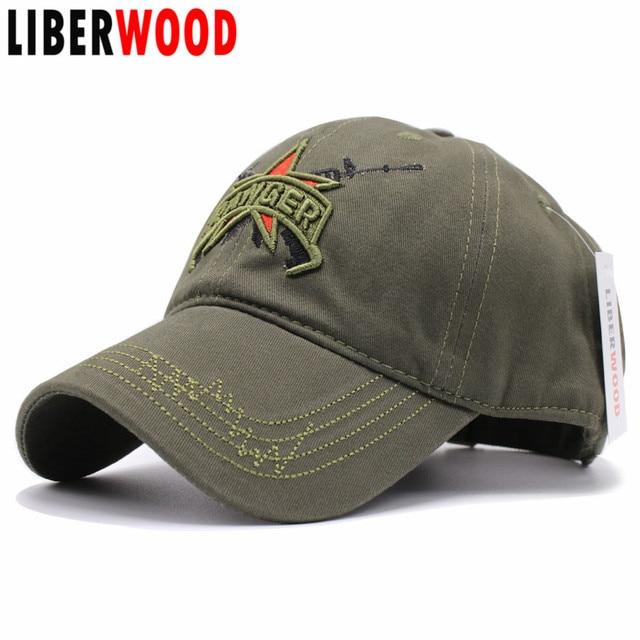 Gorros tácticos del Ejército de los hombres de LIBERWOOD gorra de béisbol  del ejército del RANGER 9b1e6e6d42e