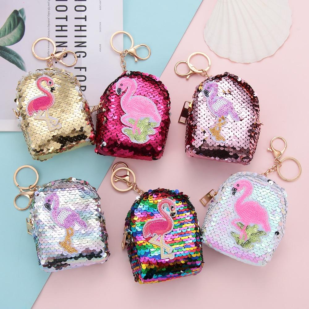 ae147a3eca 1PC Sequins Shell Bag Unicorn Mini Purse Women Cosmetic Bag Shiny ...