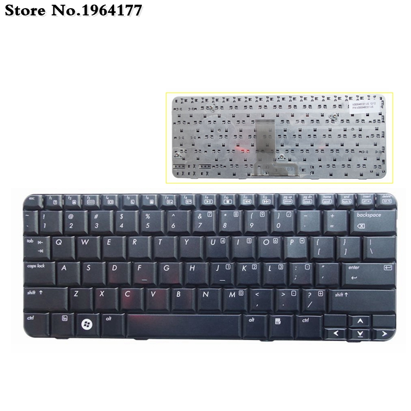 New English laptop keyboard For HP Pavilion <font><b>TX2500</b></font> TX2000 TX2100 TX1000 TX2017 TX2005 TX2010 silver or black US layout image