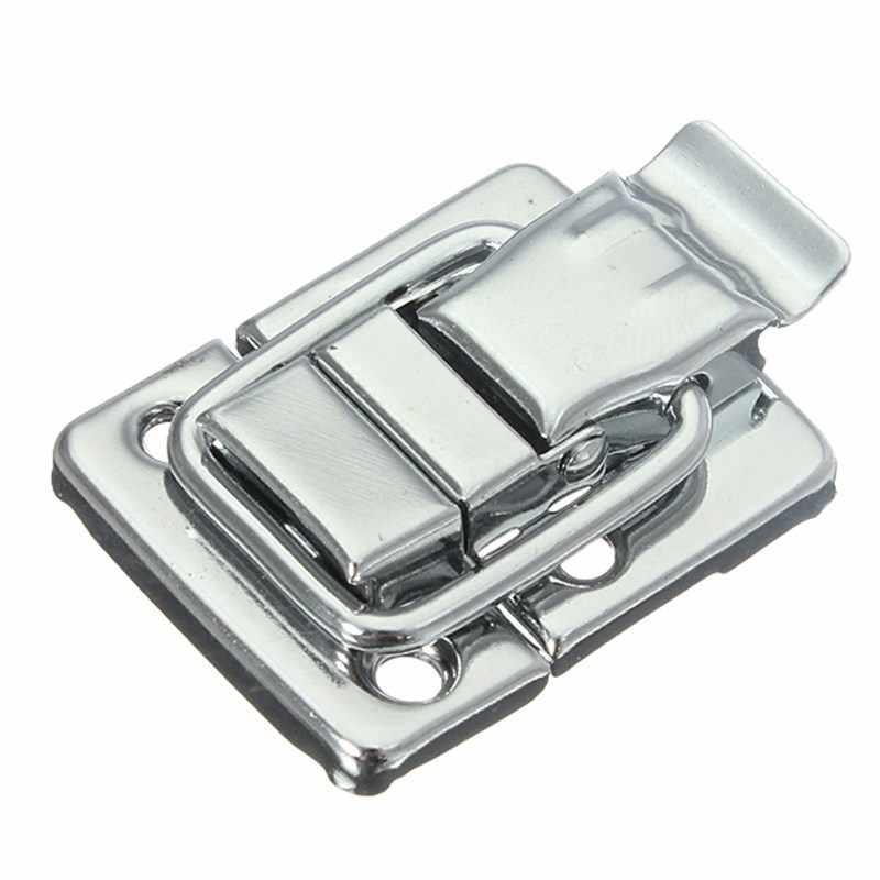 MTGATHER хромированная защелка из нержавеющей стали для коробки груди, чемодан, инструмент, застежка 43 мм H144, низкая цена