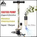 4500PSI PCP bomba Airgun air Rifle alta presión Pcp bomba de mano con filtro de aceite de agua de aire 40Mpa manómetro airsoft Paintball bomba