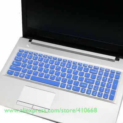 15,6 дюйма силиконовая защитная накладка для клавиатуры кожного покрова для lenovo Ideapad G510 G50-80 Y50-70 700 V4000 Y50P-70 Z500 G580 Y510P