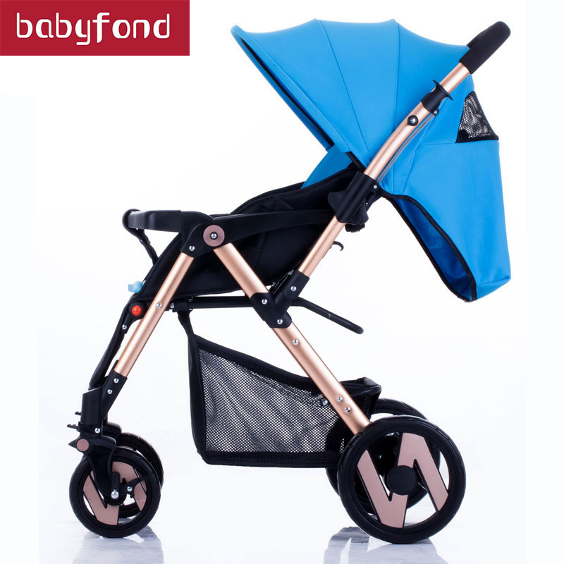 Yibaolai baby stroller can sit and lying is light folding portable newborn baby carrier yibaolai baby stroller can sit can lying baby strollers the ultra light baby carriage folding umbrella baby carts