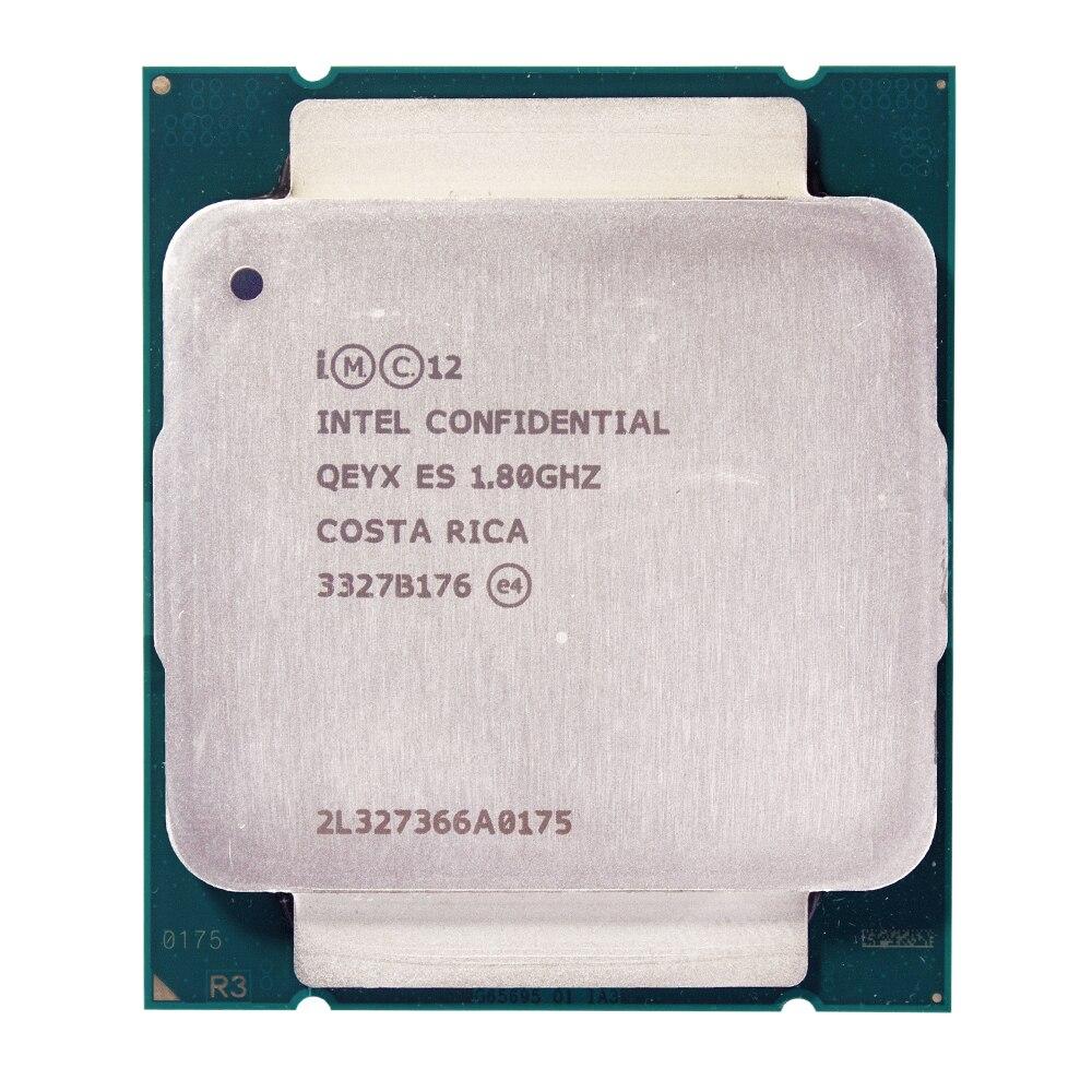 Échantillon d'ingénierie de Xeon E5-2630Lv3 ES QEYX CPU 1.8 GHz E5 V3 2630LV3 2011 v3 LGA 2011-v3 Xeon v38 core 16 processeur de fil 70 W