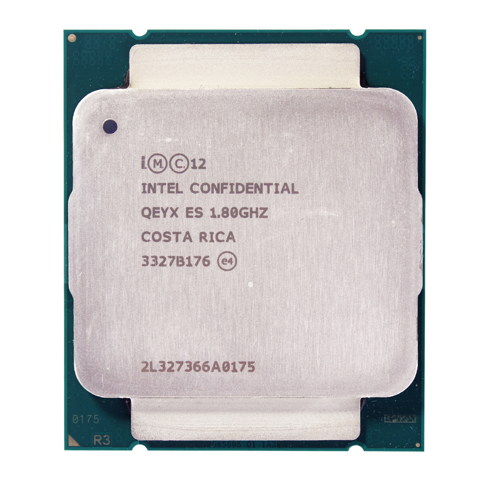 Engineering sample of Xeon E5-2630Lv3 ES QEYX <font><b>CPU</b></font> 1.8GHz E5 <font><b>V3</b></font> 2630LV3 <font><b>2011</b></font> <font><b>v3</b></font> LGA <font><b>2011</b></font>-<font><b>v3</b></font> Xeon v38 core 16 thread PROCESSOR 70W image