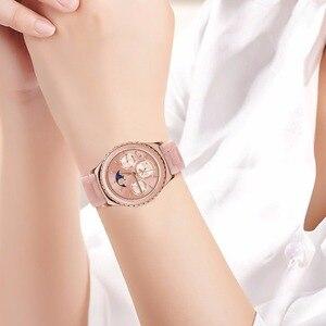 Image 5 - Imitacja ceramiczny pasek do zegarków do zegarka Samsung Galaxy 42mm 46mm aktywny 2 40mm 44mm pasek do szybkiego uwalniania pasek z żywicy bransoletka na rękę