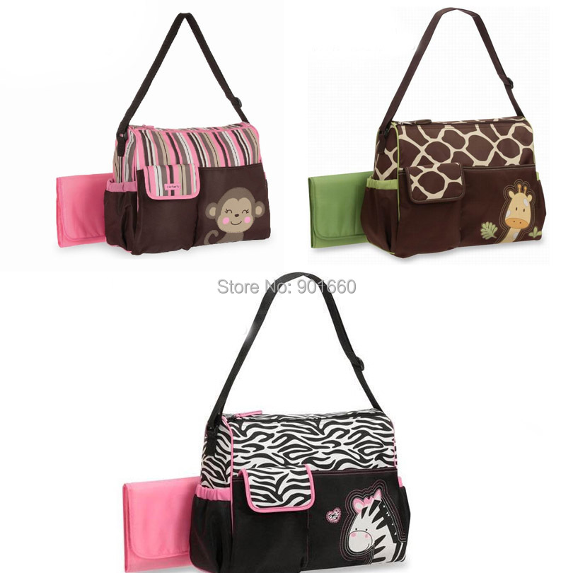 Monkey Zebra Giraffe Baby Diaper Ny Changing Bag 3pcs In Bags From Mother Kids On Aliexpress Alibaba Group