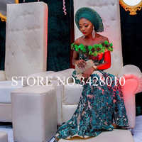 Nigerian laces Fabric 2018 Gold African Green Cord Laces Fabrics With Sequins High Quality Nigerian Lace For Wedding Dress