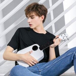 Image 3 - Populele 2 LED חכם סופרן יוקולילי קונצרט מxiaomi Bluetooth Ukulele 4 מחרוזות 23 אינץ לבן אקוסטית חשמלי גיטרה Uke