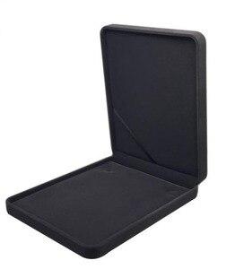Image 3 - 19 × 24 × 4 センチメートルビッグサイズベルベットのジュエリーボックスネックレスボックスギフトボックス色選択のための