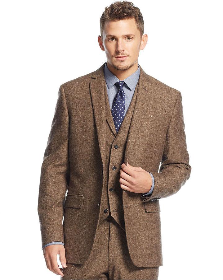 Popular Brown Tweed Jacket-Buy Cheap Brown Tweed Jacket lots from