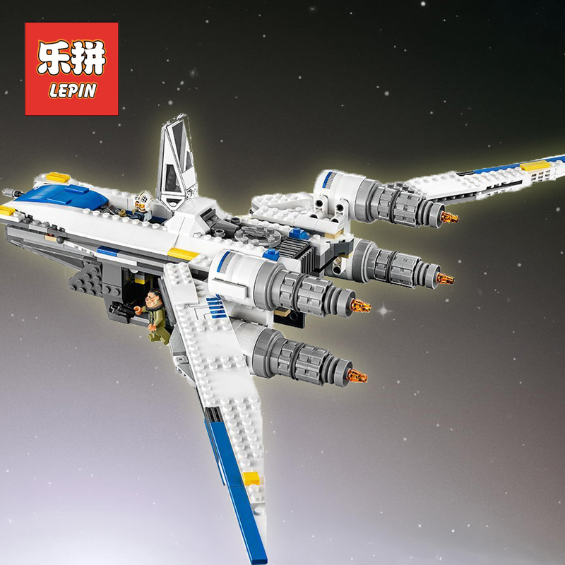 Lepin Starwars the Y 05054 Wing Starfighter Building Blocks Star Fighter War Model Collectable Toys Children Legoinglys 75155 конструктор lepin star plan истребитель повстанцев u wing 679 дет 05054