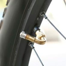 45 °/90 °/135 градусов для автомобилей и мотоциклов велосипедной шины с защитой от удлинитель шинного клапана Удлинительный адаптер Латунь воздуха колпачки вентиля шины к клапану Шредера