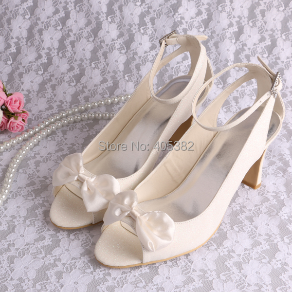 Wedopus MW692 Top Quality Shiny Glitter font b Women b font Wedding Party Shoes Elegant Sandals