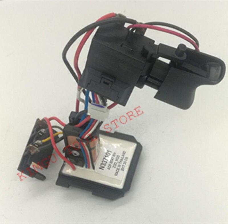 Switch for DeWALT DCD771 DCD771C2 TYPE1 N279942 N335379 N337101