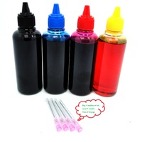 YOTAT 4*100ml Black Pigment color Dye Ink for HP564 HP364 HP178 HP862 HP920 HP685 HP655 HP670 HP940 HP88 HP932 HP950 HP711 HP970