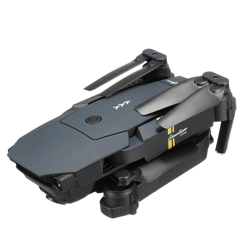Eachine E58 WIFI FPV avec caméra grand angle HD mode de maintien élevé bras pliable drone quadricoptère RTF VS VISUO XS809HW JJRC H37 - 5
