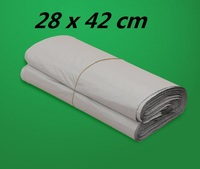 15 Poly Mailer Plastic Shipping Mailing Bag Envelopes White Polybag Shipping Bags 28 X 42cm