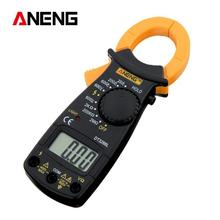 DT-3266L Digital Amper Clamp Meter Multimeter Current Clamp Pincers Voltmeter Ammeter 600A AC/DC Ohm Current Voltage Tester все цены