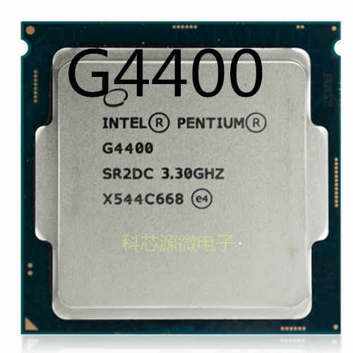 إنتل بنتيوم معالج G4400 LGA1151 14 نانومتر ثنائي النواة 100% العمل بشكل صحيح جهاز كمبيوتر شخصي سطح المكتب المعالج