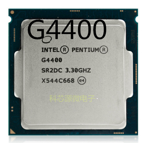 Processeur Intel Pentium G4400 LGA1151 14 nanomètres double cœur 100% fonctionnant correctement processeur d'ordinateur de bureau PC