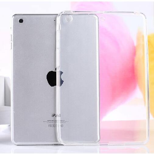 TPU Silicone Clear Soft Case For Apple iPad mini 1 2 3 Case Transparent Slim Armor Funda For iPad mini 1 2 3 Back Cover soft tpu tablet back case for ipad air 1 2 silicone transparent cover for ipad mini 1 2 3 for ipad2 3 4 crystal protective case