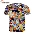 Cartoon 3D Printed Man T Shirts Dragon Ball Z Animal Summer Short Sleeve Pullovers Youth Casual Men T-shirts Fashion Clothes