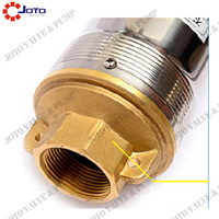 free shipping 400w 40m Lift 220v50hz Deep Well Pump Submersible Water Pump AC For Irrigation