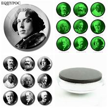 Oscar Wilde Karl Marx Nietzsche Albert Einstein Theodore Roosevelt Sigmund Freud Magnetic Sticker Fridge Magnet Decor Souvenir