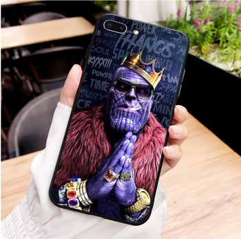 Marvel DC comics iron man spider-man batman soft TPU phone case For  iPhone MAX XR XS X10 5 5S 5SE 6 6SPlus 7 7Plus 8 8Plus 1