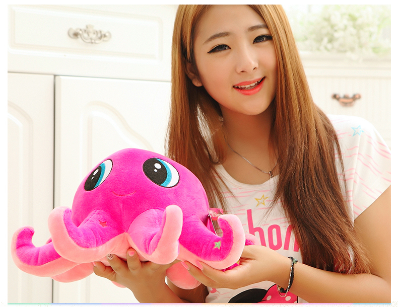 plush pink lovely octopus toy cartoon octopus doll gift doll about 50cm 0044