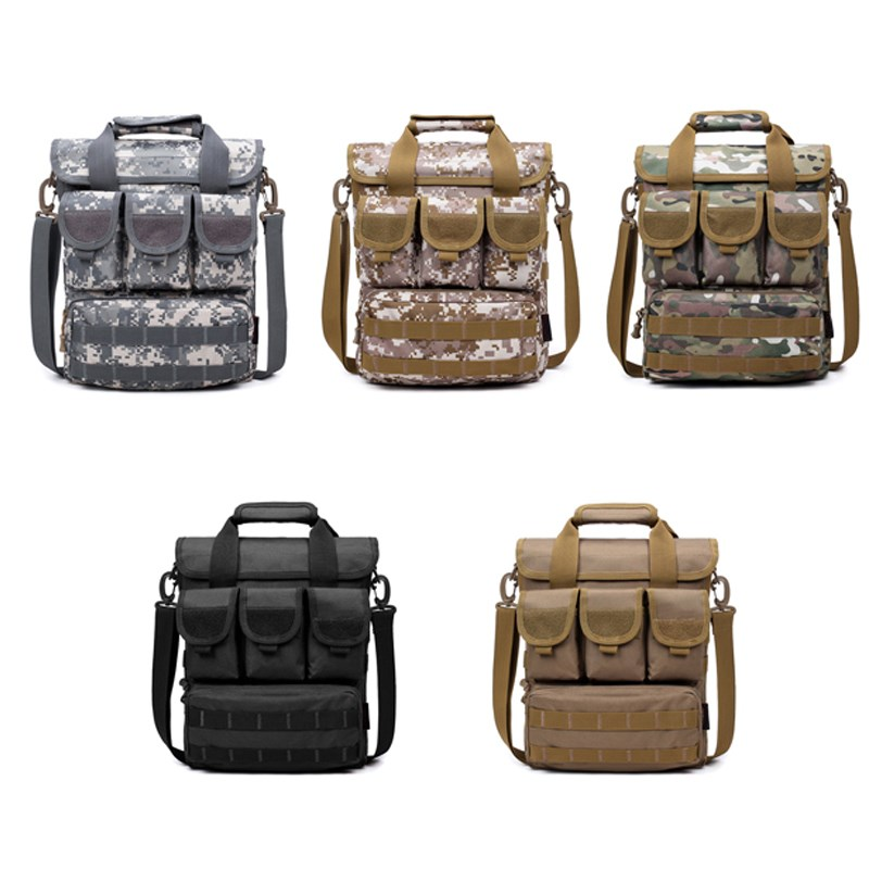 Military Army Hunting Tactical Camouflage Bag Waterproof Nylon Men's Leisure Travel Messenger Bag outdoor camping hiking bags цена