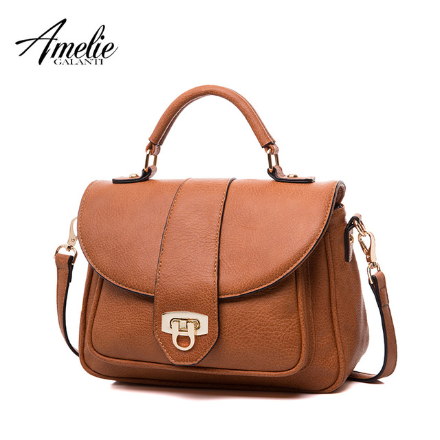 AMELIE GALNATI Women's small bag Classic fashion Handbags & Crossbody bags Cover Zipper Solid