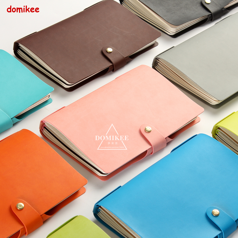 все цены на New candy leather traveler notebooks stationery,candy school student travel journal diary notebooks stationery A5 10 colors онлайн