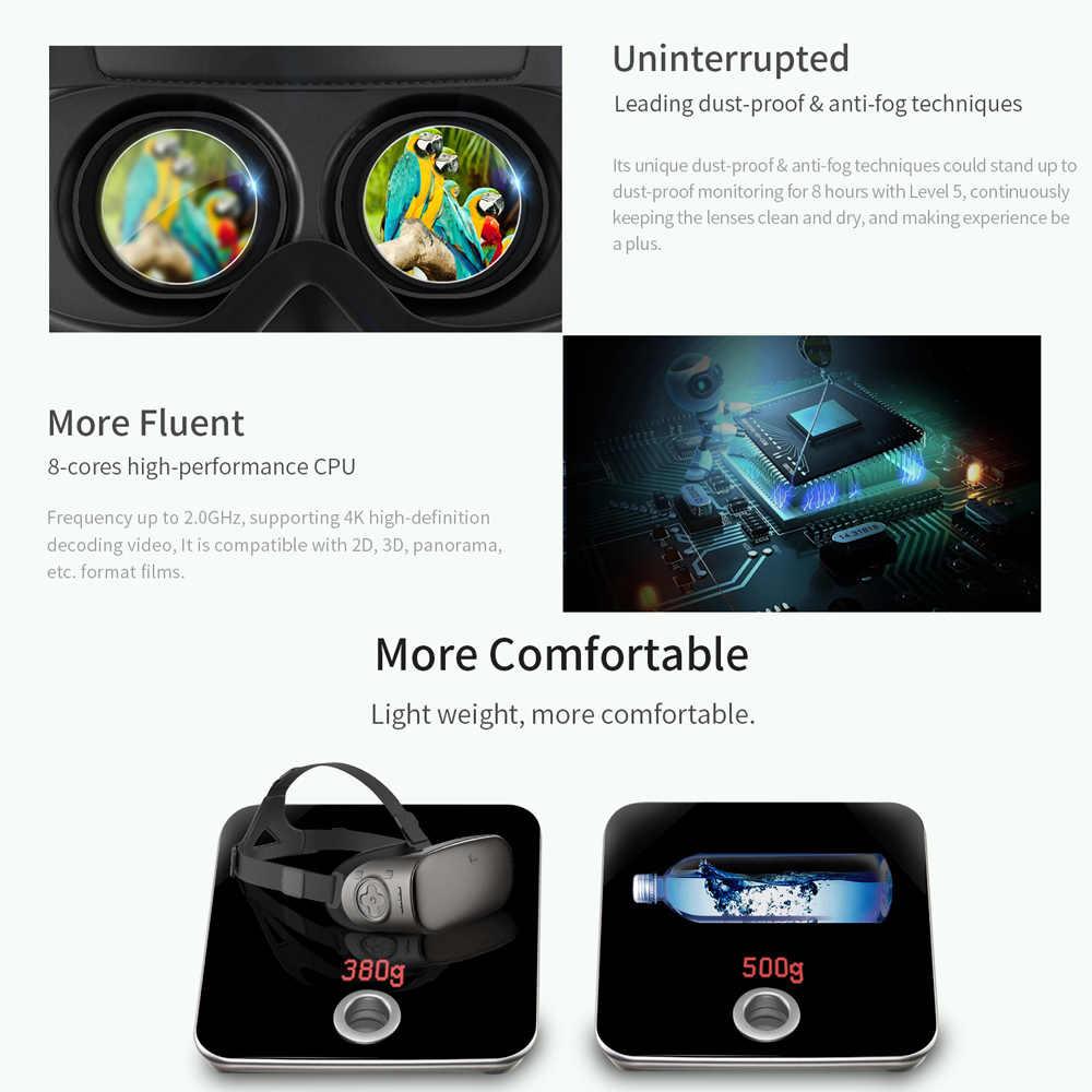VIULUX V6 Очки виртуальной реальности все-в-одном машина 3D гарнитура 2 Гб 16 Гб иммерсивный BT4.0 WiFi 5,5 дюймовый экран дисплея 110 FOV