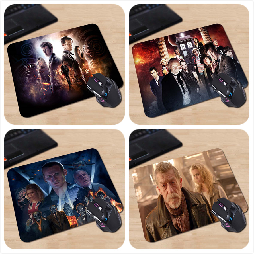 Hot Sell Custom Picture Comfort Non-Slip The Doctor Who Charactors Non-Slip Laptop PC Mice Pad Mousepad For Optical Laser Mouse