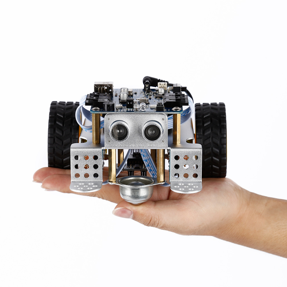 1pcs DIY mBot V1.1 Educational Robot Kit, Robot Toy For robotics learning and STEM education, Easy to Assemble (2.4G Version) купить