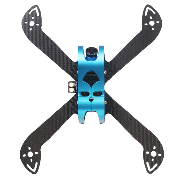 F40 F50 F60 200/230/260MM Quadcopter FPV RC Drone Frame Kit For TINSLY #7075 Alumimun Hood 3K Carbon Fiber Board Accessories 1 pc phone hood monitor hood for rc monitor drone phone shading sun accessories