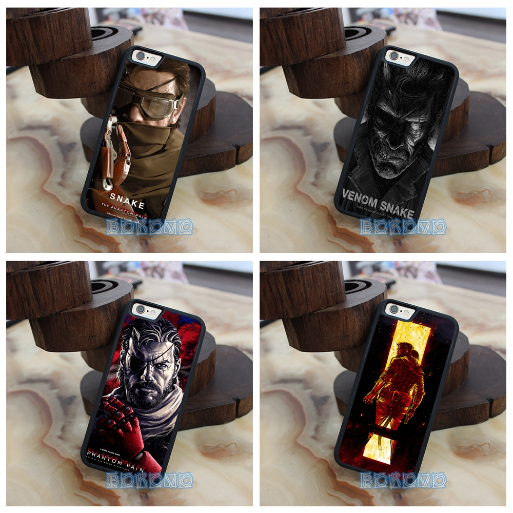 Venom Snake Metal Gear Solid V the Phantom Pain phone case cover for iphone 4 4s 5 5s se 5c 6 6 plus 6s 6s plus 7 7 plus &jj25