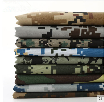 Digital Military Camouflage Fabrics Home Textile For Patchwork Tablecloths  Sewing Furniture Crafts Materials Cloth Fabric Tissu