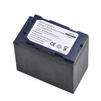 Tectra 5400mAh 1pcs CGR-D54 CGR D54 CGRD54 Battery for Panasonic CGA-D54 Panasonic AG-AC8PJ AG-AC90A AG-HPX250 HC-X1000 Battery