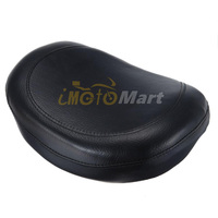 Universal Synthetic Leather Motorcycle Backrest Cushion Pad For Harley Choppers Touring Cruiser Custom