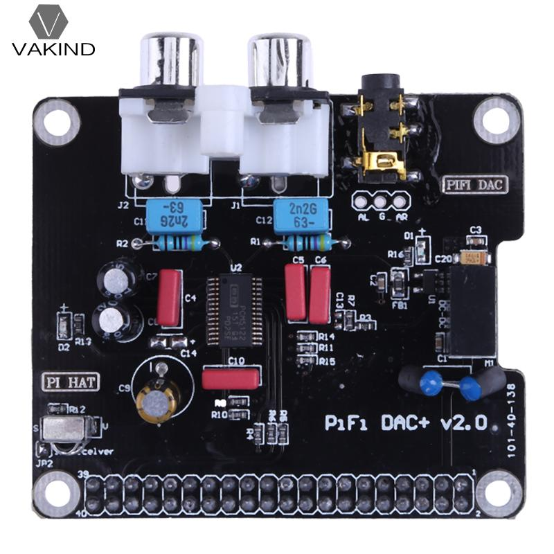16-32Bits 112dB PCM5122 HIFI DAC Audio Sound Card Module I2S 384KHz with LED Indicator Light for Raspberry Pi B+ 2 Model B ugeek aoide hifi dac audio sound card module i2s interface for raspberry pi b diy your hifi player with raspberry pi