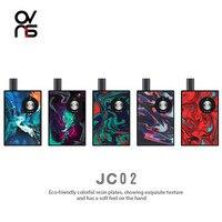 OVNS JC02 Electronic Cigarette Vaporizer 650mAh Battery 1.2ohm Ceramic Coils 1ml Cartridge Vaper vs Orion Q Pod Kit