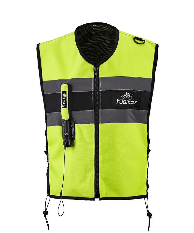 Motorcycle zipper Air bag Vest Moto Racing Professional Advanced Air Bag system motocross protective airbag