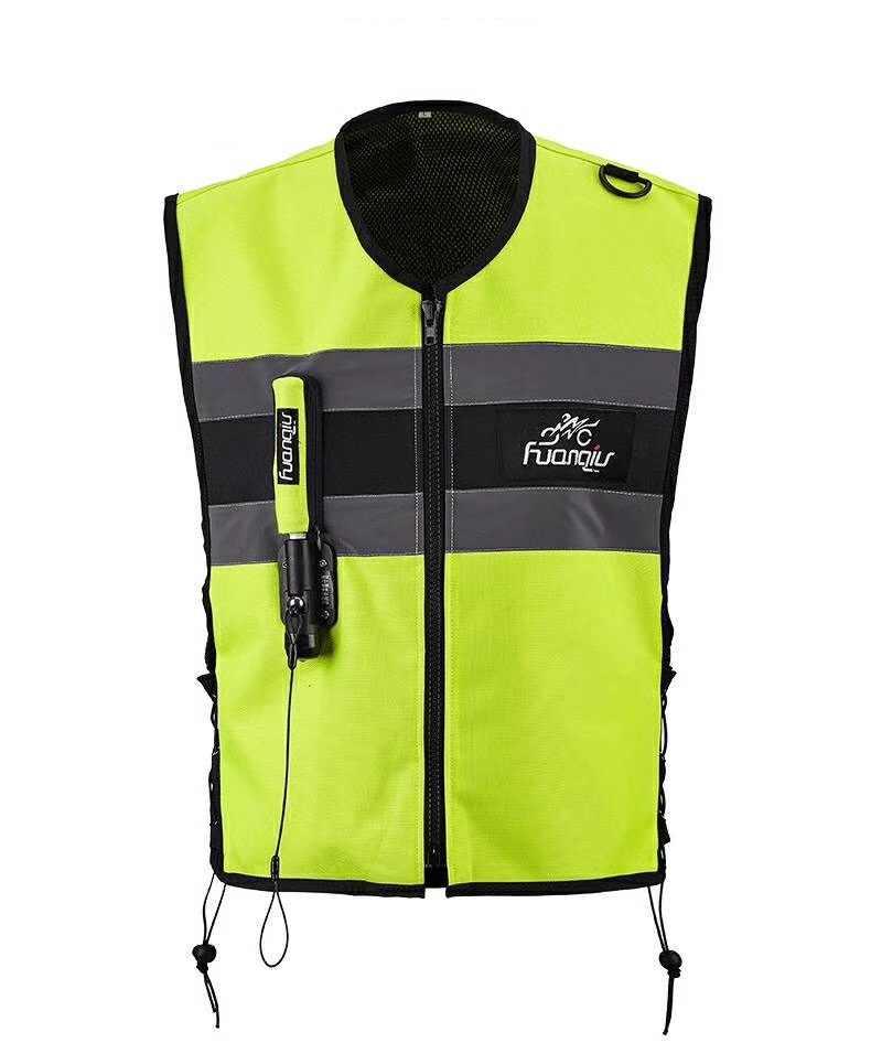 Airbag professionnel avec fermeture éclair pour motocyclette, système de protection, pour course, pour motocyclette